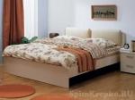 Кровать Мелисса с мягкой спинкой